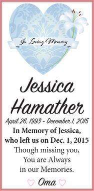Jessica  HAMATHER