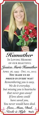 Jessica Marie  HAMATHER