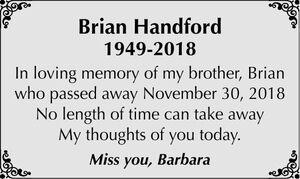 Brian  HANDFORD
