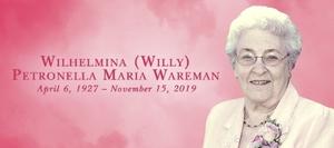 Wilhelmina  WAREMAN