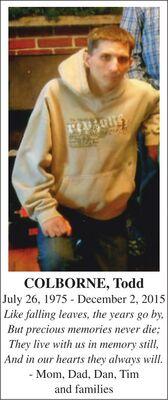 Todd  COLBORNE
