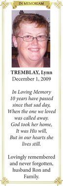 Lynn  TREMBLAY