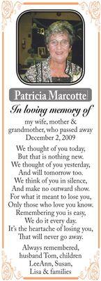 Patricia  MARCOTTE
