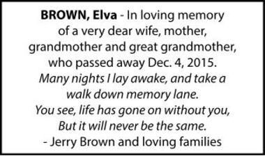 Elva  BROWN