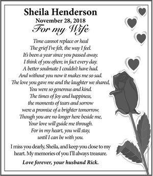 Sheila  HENDERSON