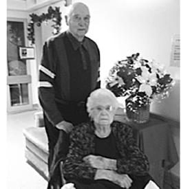 John and Minnie  Senger