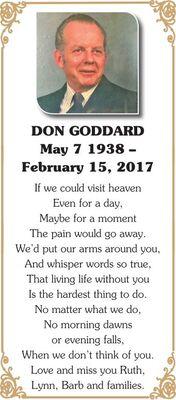 Don  GODDARD