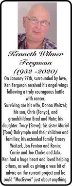Kenneth Wilmer  FERGUSON