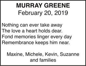 Murray  GREENE