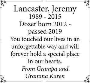 Jeremy  LANCASTER