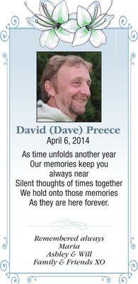David (Dave)  PREECE
