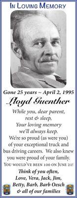 Lloyd  GUENTHER