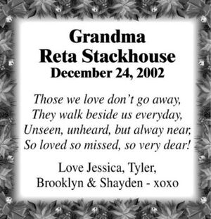 Reta  STACKHOUSE