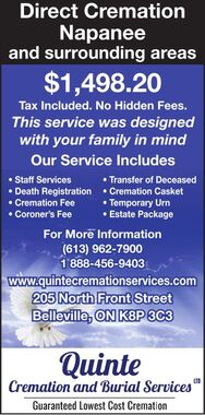 Direct  Cremation Napanee
