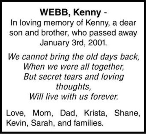 Kenny  WEBB