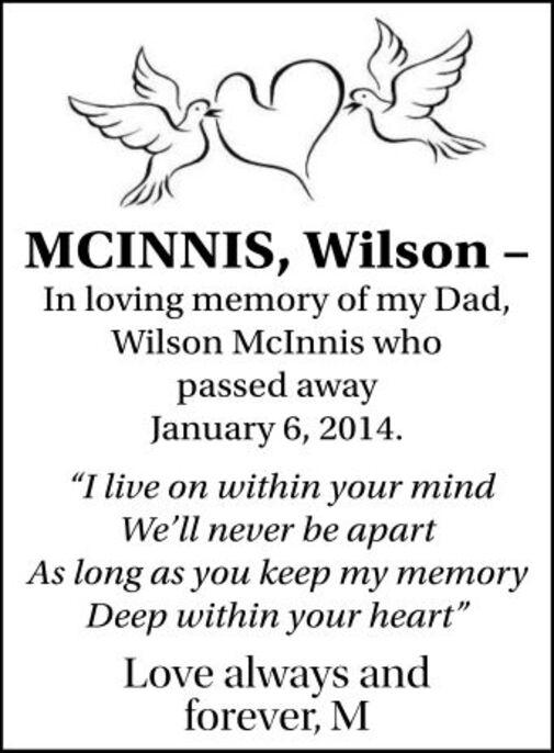 Wilson  MCINNIS