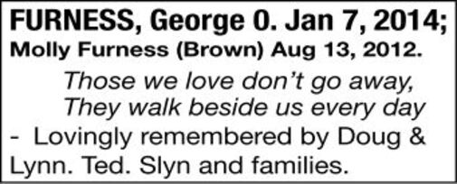 George   Molly  FURNESS