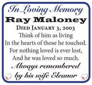 Ray  MALONEY