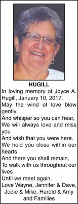 Joyce  HUGILL