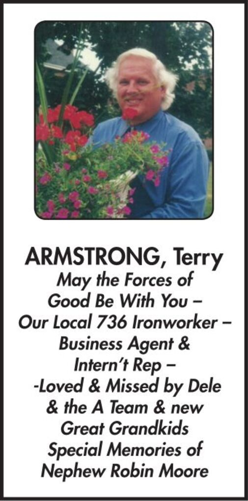 Terry  ARMSTRONG