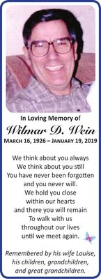 Wilmar D  WEIN