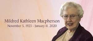 Mildred  MACPHERSON