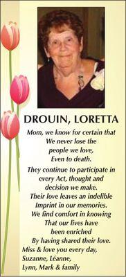 Loretta  DROUIN