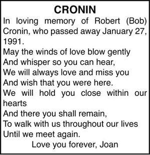 Robert  CRONIN