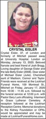 Crystal  EISLER