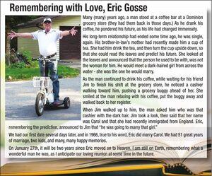 Eric  GOSSE