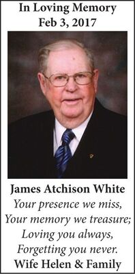 James Atchison  WHITE