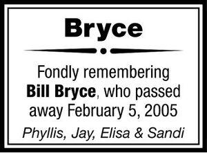 Bill  BRYCE