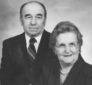Janina and Kazimierz  ABRAHAMOWICZ