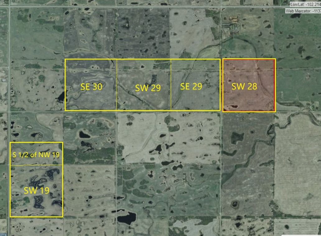 Image for 860 Acre grainland for rent in RM of Fertile Belt #183